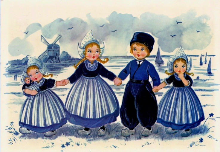 Delft Blue Children 5
