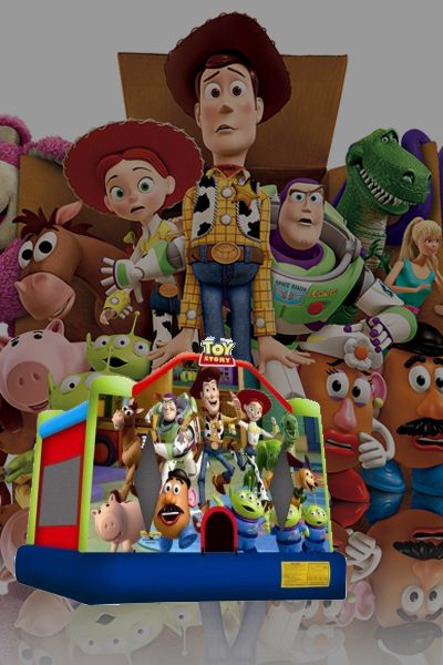 Toy Story 3 Bouncy Castle  #bouncycastles #inflatables #toys #play #kids