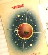 1950's Atomic Ranch House: Vintage 1957 Space Race Card Game