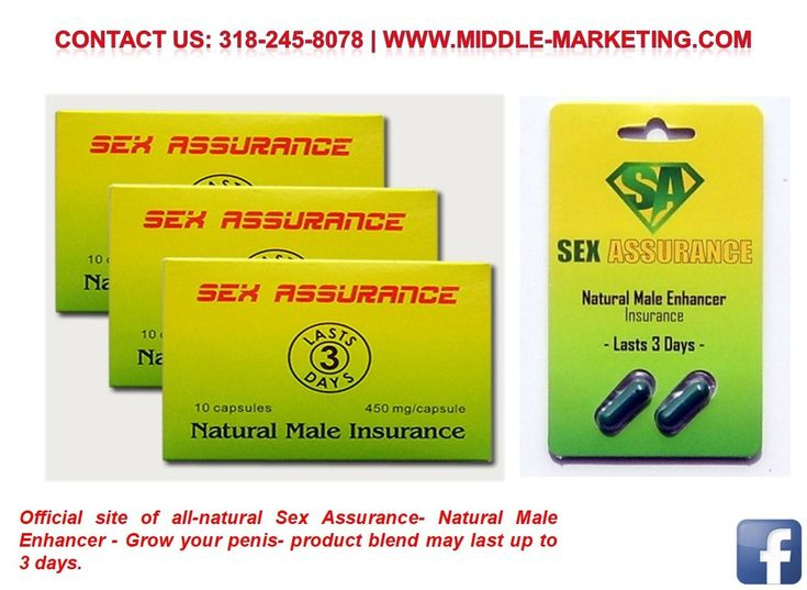Sexual Male Enlargement Pill - Middle-Marketing