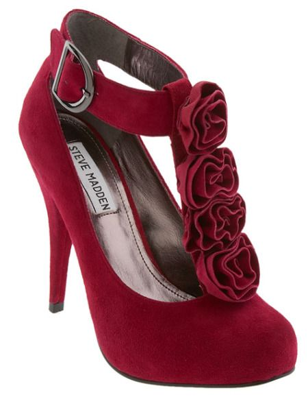 steve-madden-trickked-pump: Fab Shoes, Holidays Parties, Shoes Fetish, Fashion Shoes, Cute Shoes, Red Shoes, Steve Madden Shoes, Sex Toys, Red Pumps