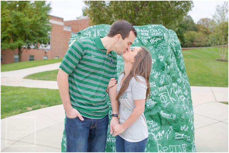 York College PA Engagement session - PA engagement photos - Tina Elizabeth Photography