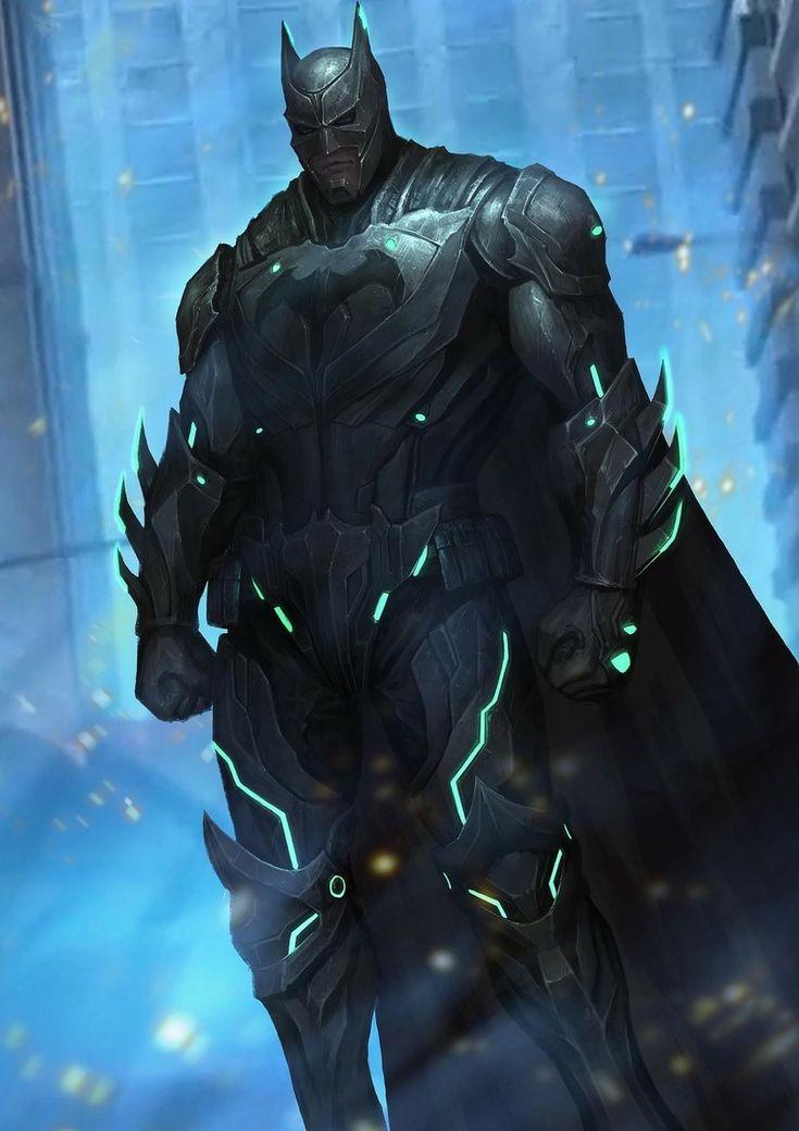 Batman  ... cool suit !!!