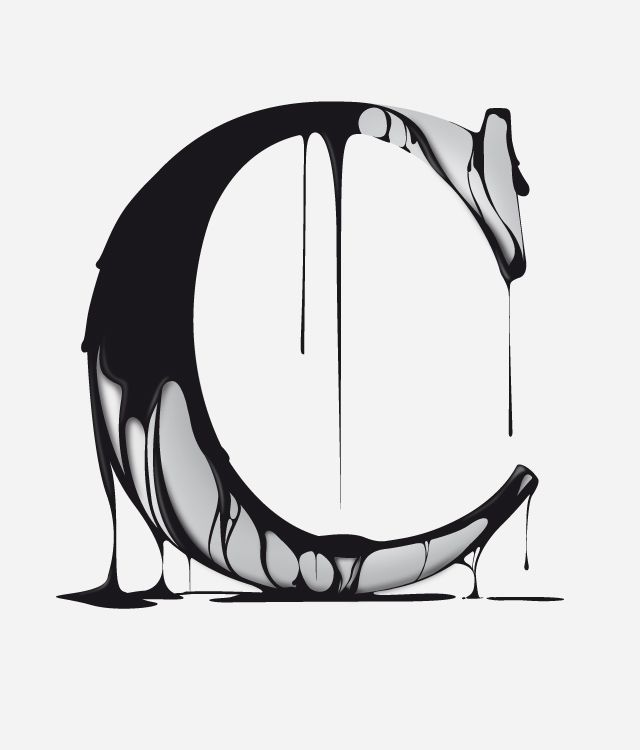 Reminds me of Chocolate. // Letter design for Non Mute, a mexican T-shirt brand and other stuffs by Clim.