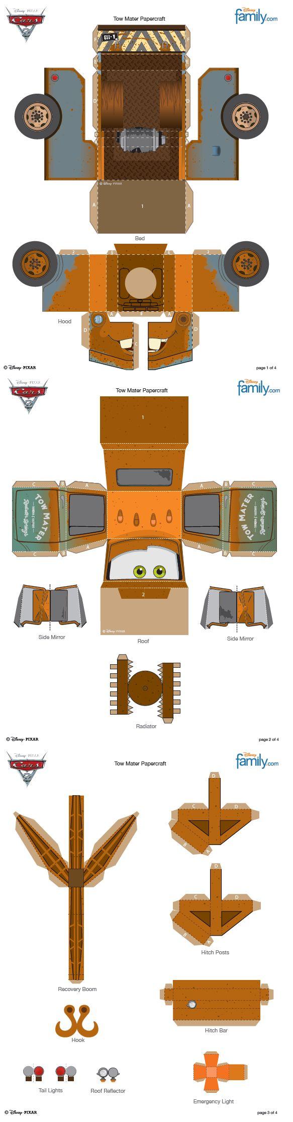 Tow Mater http://family.go.com                                                                                                                                                                                 Mais