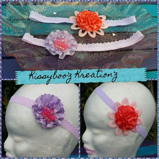 Some headbands made by me &my princess available on pur fb page