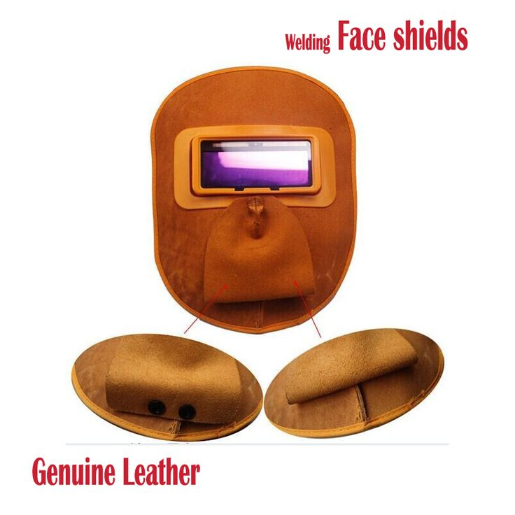 Cheapest CE Leather welding Masks Face Shields Glass auto Darkening solar  tig mig Arc welding helmet Goggles