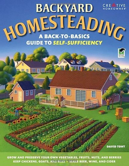 Backyard Homesteading book. I certainly need to invest in this read!