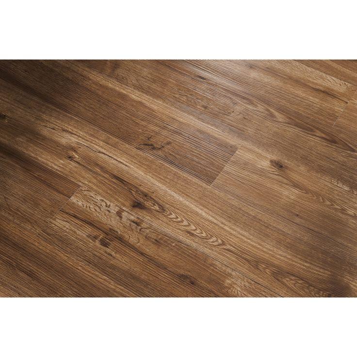 Shop Shaw Matrix Regency Gunstock Oak Floating Vinyl Plank