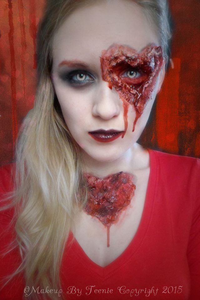 My Bloody Valentine Makeup Tutorial Makeup By Teenie