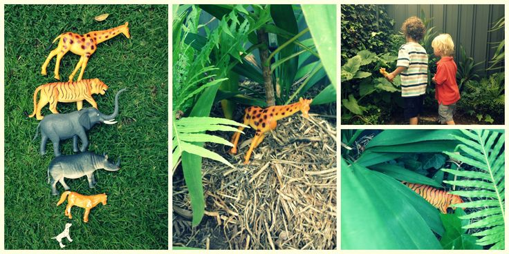 Animal Hide And Seek. #outdooractivitiesforkids #kidsgames