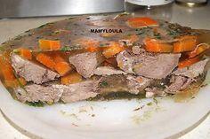 recette Langues de porc en gelée