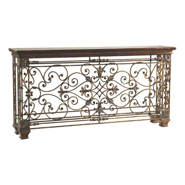 Ambella Home 02133-850-002 Rockefeller Large Console Table