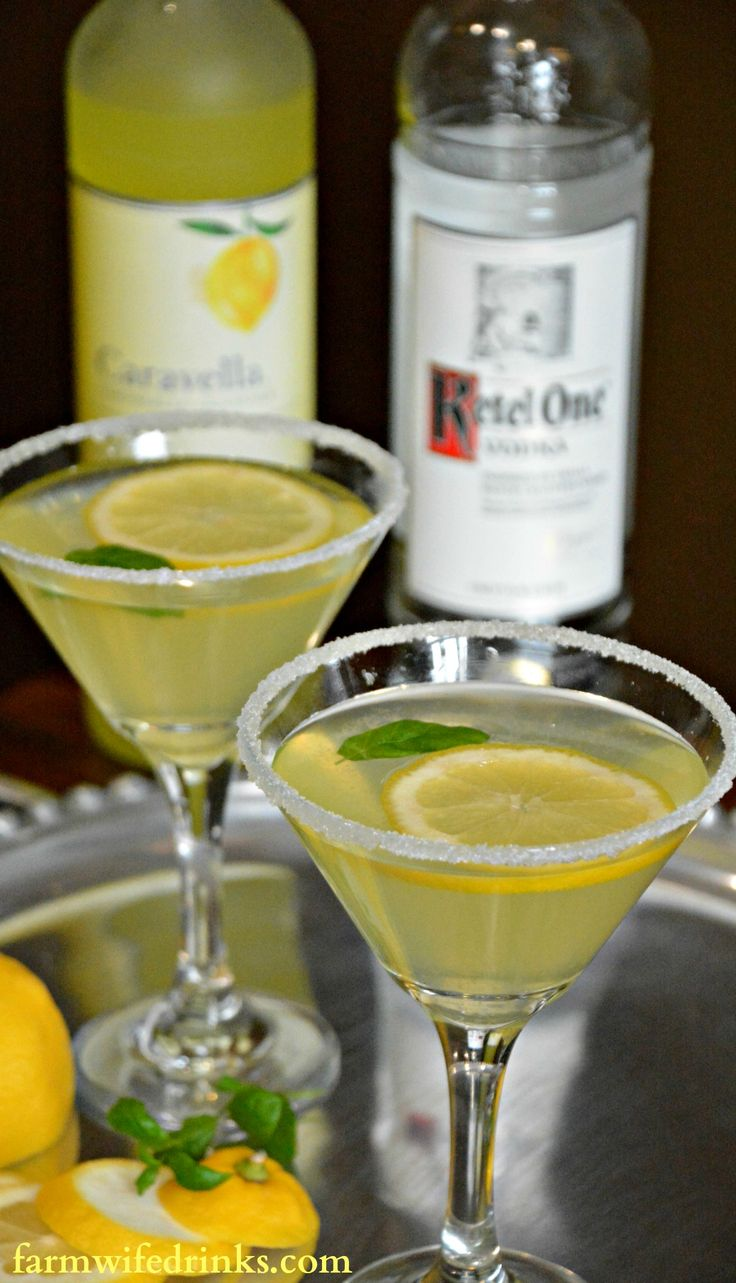 A Lemon Drop Martini is sweet and tart with lots of lemony flavors. The addition of limoncello helps make this lemon drop martini recipe perfect.