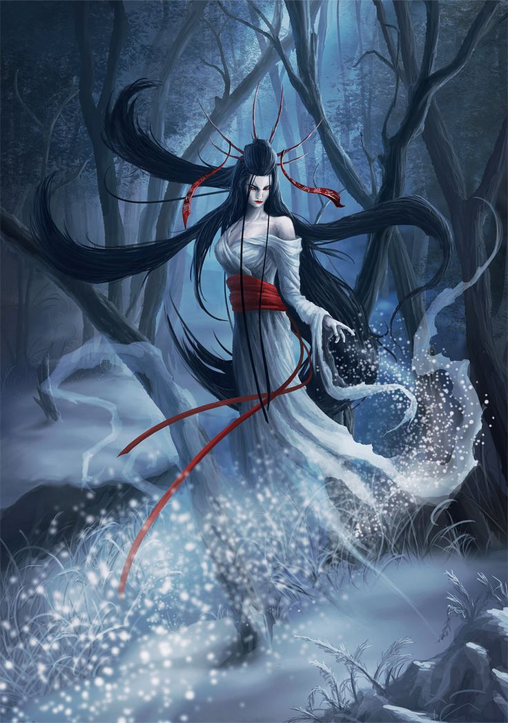 Yuki-Onna (Demiurge) REALM: Sheol. CONCEPT: Coldness / Ice. PLEROMATIC REPLACEMENT: Taira.
