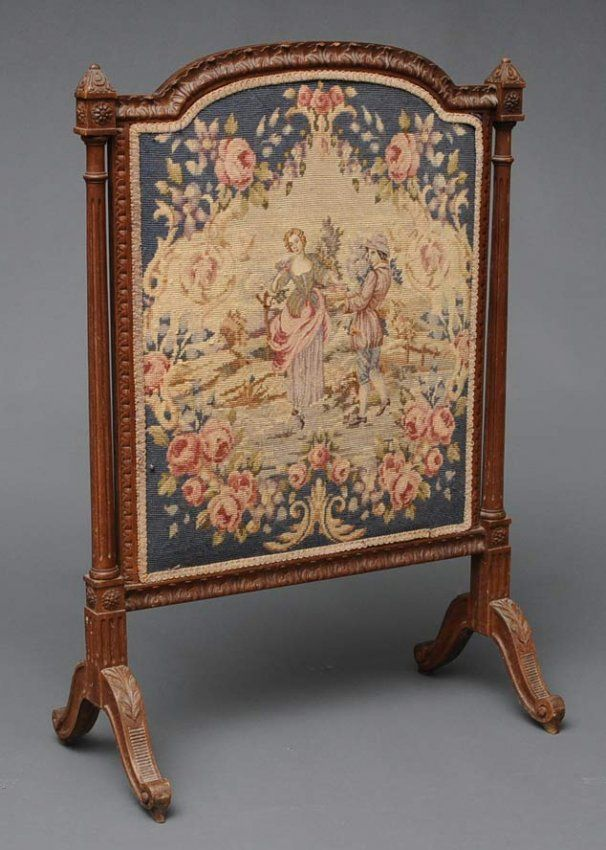 french fireplace screens. french fire screen  French Needlepoint Fire Screen Lot 176 49 best Fireplace screens images on Pinterest