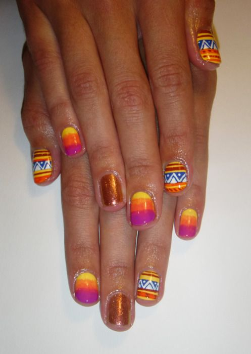 17 Best Images About Native American Nail Design On
