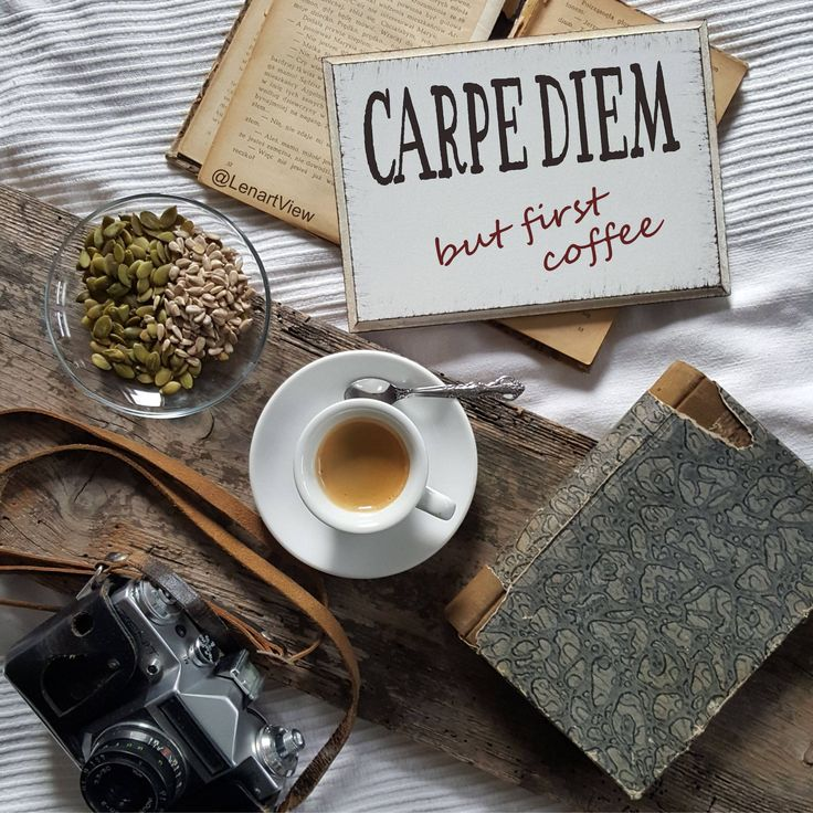 Carpe diem but first coffee signs, kitchen plaques, funny