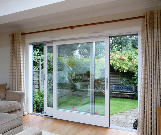 small patio doors extend your small home living space with