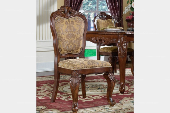 Caesar Palace American Style Classic Dining Room Furniture – Dining Chair - MelodyHome.com