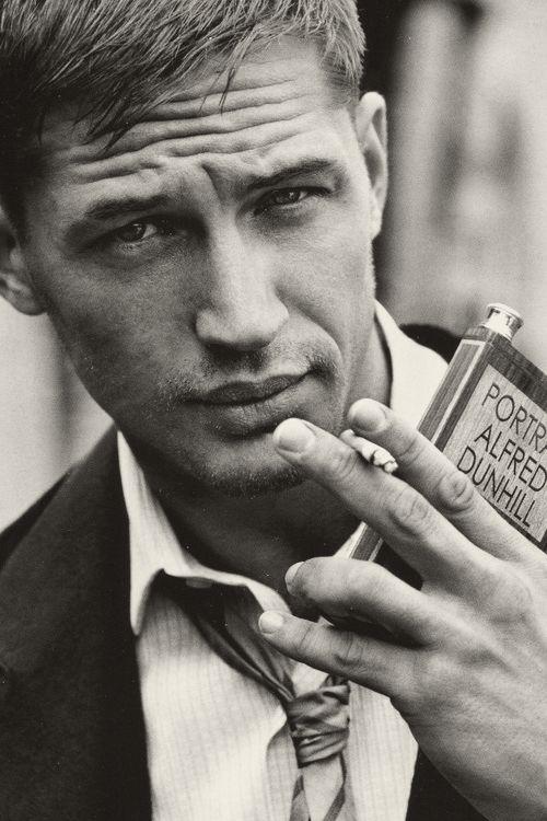 those lips :) tom hardy
