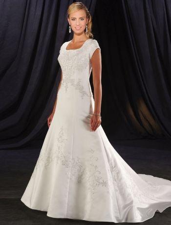 Свадебные платья скромные
