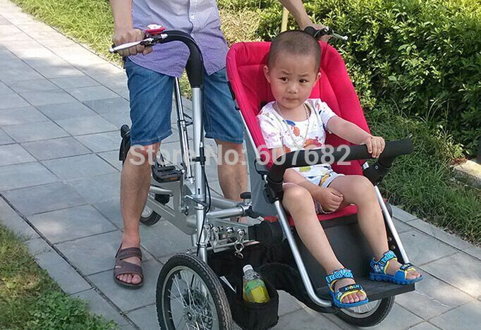 Cheap stroller red, Buy Quality baby stroller light directly from China stroller bicycle Suppliers: Features1. transform into a bicycle with baby trolley2. steel frame in any color3. alloy rims4. adjustable