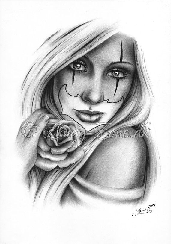 138 best images about clowns on pinterest chicano lowrider tattoo and gangsters. Black Bedroom Furniture Sets. Home Design Ideas