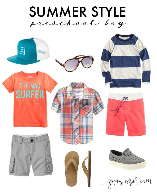 Summer Style for the Preschool Boy