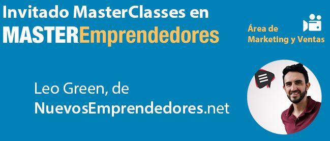 Webinars con Expertos Invitados a MasterEmprendedores