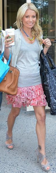 Shoes - Fendi Purse - Hermes Necklace - Tom Binns Skirt - Isabel Marant Same skirt different material Isabel Marant MILLA TIERED PRINTED SKIRT
