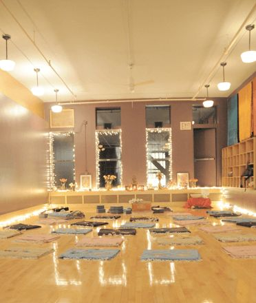 New York City's most beautiful yoga studios – Well+Good