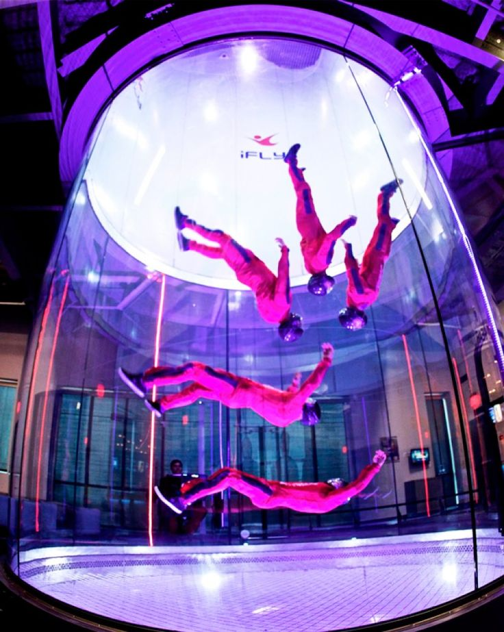 Indoor Skydiving - Gift experience in Boston - No parachute required! Experience the exhilarating feeling of skydiving indoors! Gift experience in Boston for anyone who wants to feel the skydiving sensation - $55.00