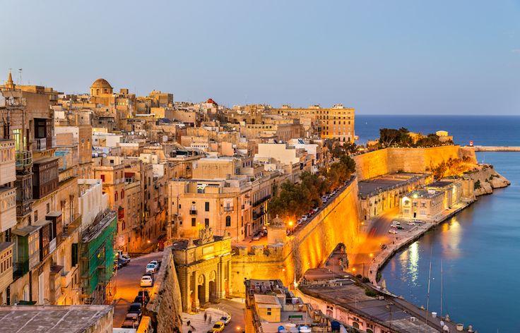 Valletta - ett av 7 romantiska resmål i vår