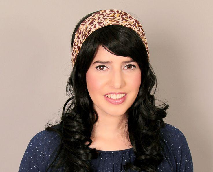 Winter sale 20% off - Multi colored headband - Bandanna headband - Headband with print - Cotton bandanna by TAMARLANDAU on Etsy