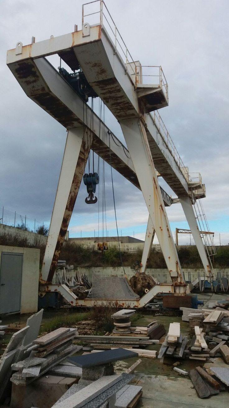 Gru a Cavalletto usata Michielotto 35+ 5 ton
