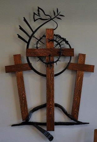 Love this representation of the cross and what it stands for!