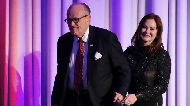 Rudy Giuliani ha sido uno de los grandes apoyos del magnate dentro del Partido Republicano