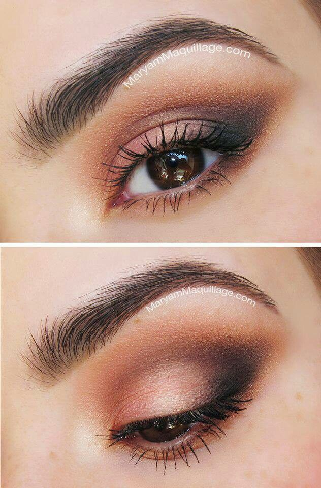 Nice makeup (without eyeliner)