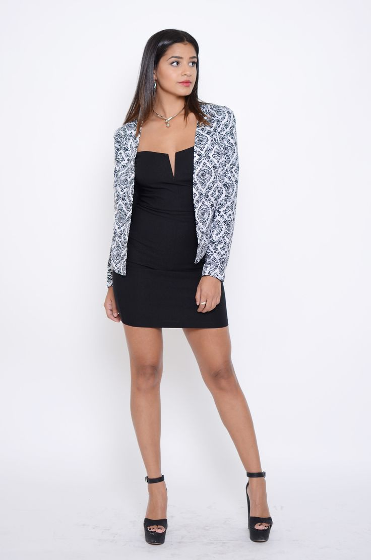 Get out and rock this beautiful blazer that is perfect for a day to night look…