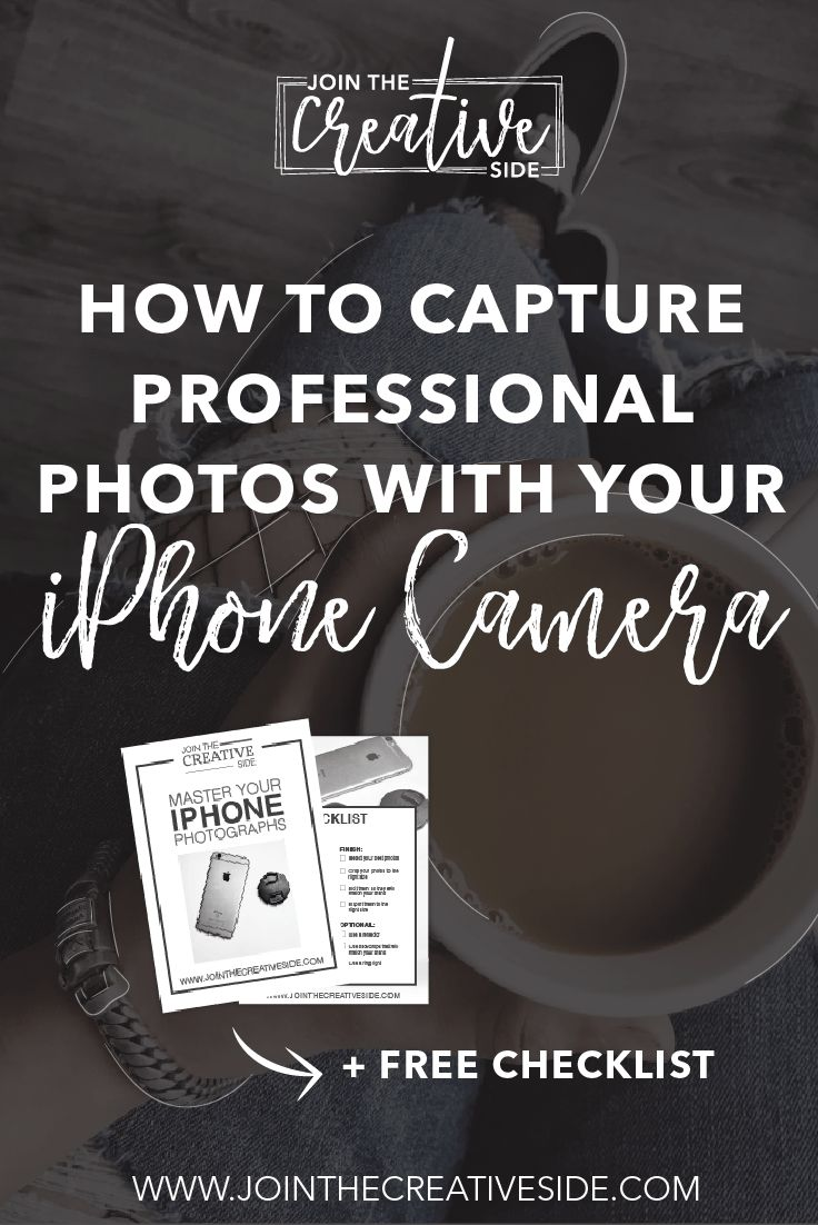 How to capture professional photos with your iPhone camera