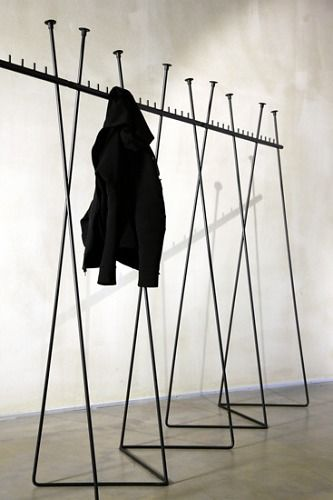 Teppo Asikainen and Valvomo Two Step Coat Rack