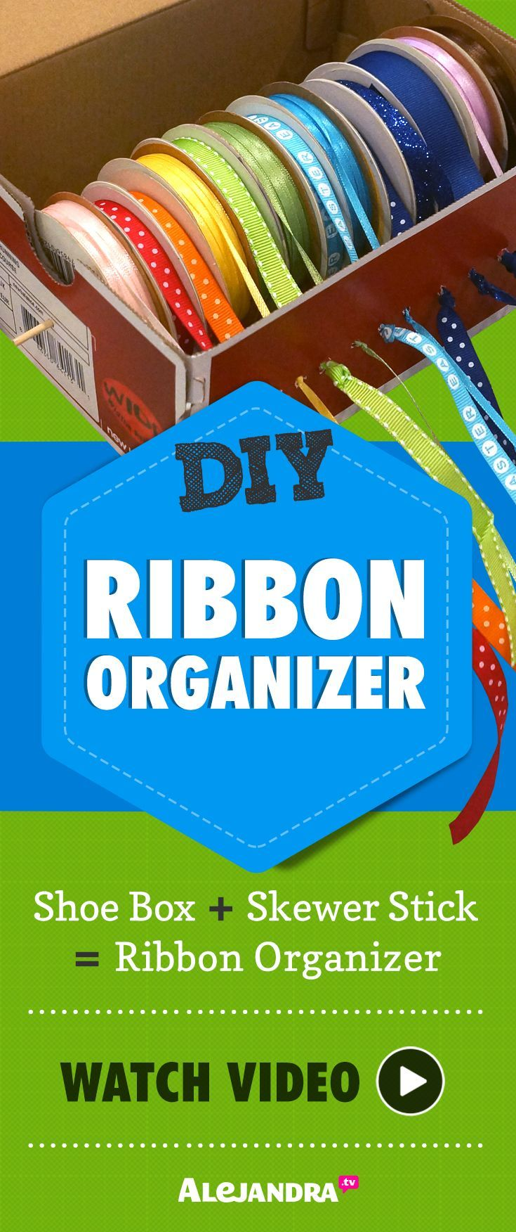 Craft supplies organization ideas - Diy Organization Ideas