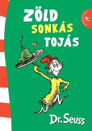 [0%/0] A Kalapos Macska és a Ha lenne egy cirkuszom után áprilisban végre új Dr. Seuss-kötetekkel jelentkezünk! Zöldeket én nem eszem. Dehogy ment el az eszem! Ne adj zöld tojást nekem, sonkát se, nem szeretem! Dr. Seuss a gyerekirodalom egyik legnépszerűbb alakja, a Zöld sonkás tojás pedig a leghíresebb láncmeséje. Zöld sonkás tojást bárhol, bármikor lehet enni. Vagy mégsem? A történetben záporoznak a furábbnál furább ötletek, helyszínek és társak, ahol és akikkel a furcsa külsejű ételt...