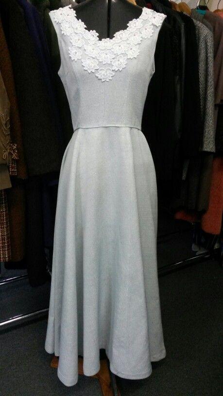 1960 evening dress