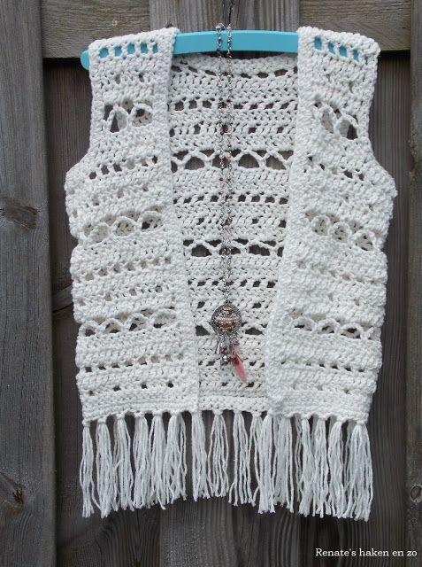 Ibiza-style vestje (met link naar gratis patroon) / Ibiza-style cardigan (with link to free pattern)