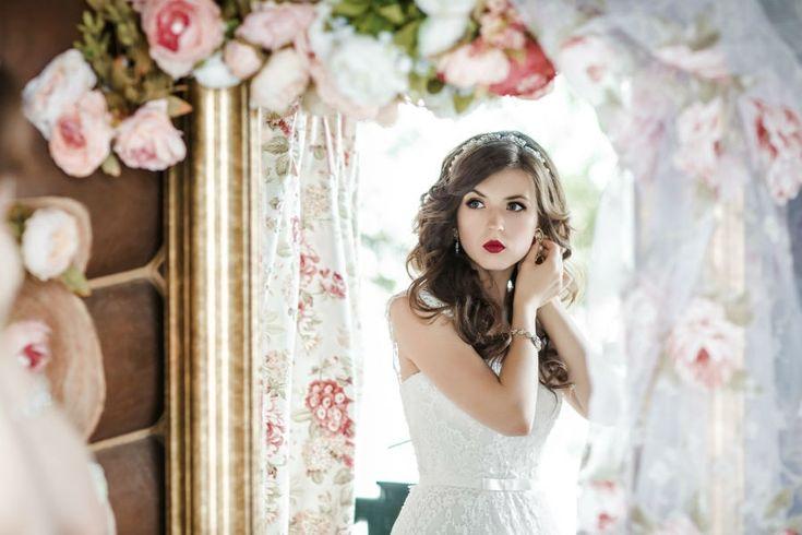сборы невесты в нежных и пастельных тонах, fees bride in delicate pastel tones