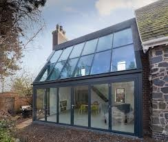 Aluminium Bifold Doors And Glass Roof   Google Search