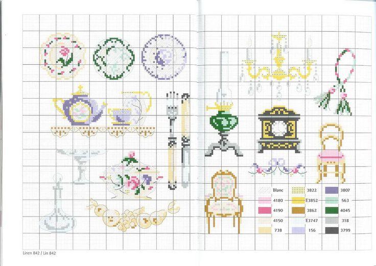 Kitchen Cross Stitch Designs