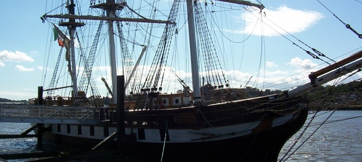 Dunbrody Famine Ship, New Ross, Co. Wexford, Ireland
